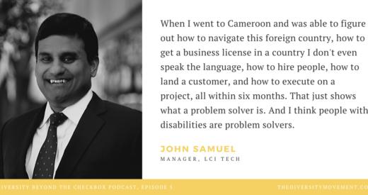 John Samuel Quote