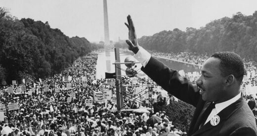 Martin Luther King Jr. at A March on Washington