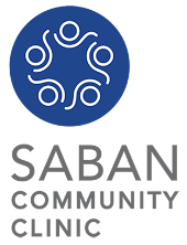 Saban Community Clinic logo