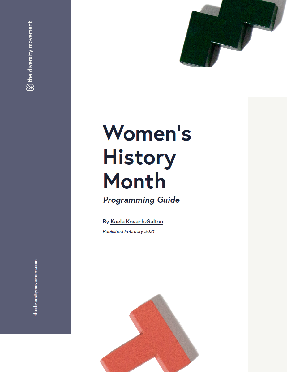 Women's History Guidebook cover image
