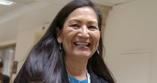 Photo of Deb Haaland smiling
