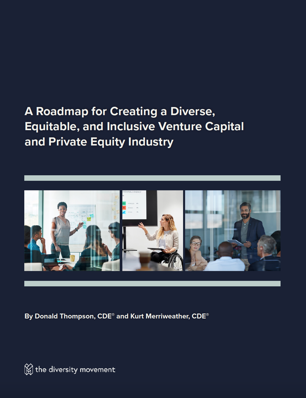 Image of the roadmap cover page featuring photos of diverse employees working together