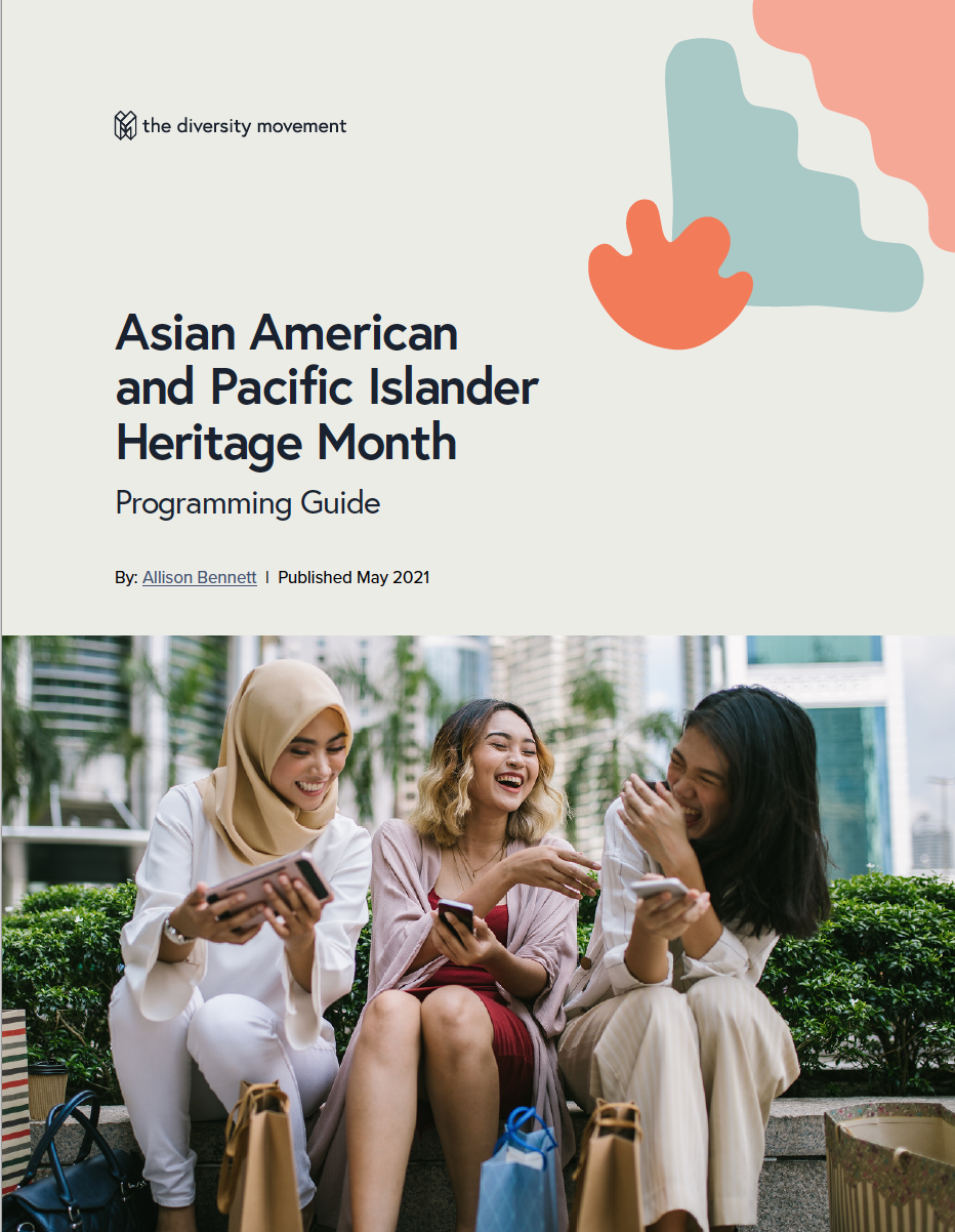 Screenshot of AAPI Heritage Month Guide Cover