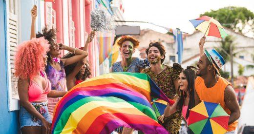 Olinda, Brazil, - Celebration Event, Pride day