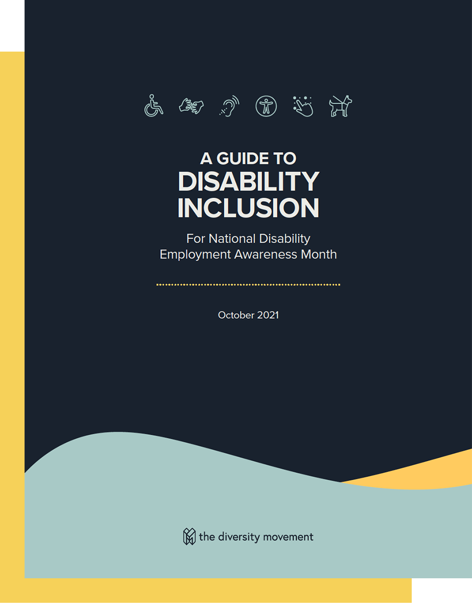 Guidebook Cover page with title and accessibility icons